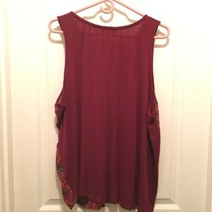 Maurices Tops - Maurice's Size 2 Sleeveless Blouse